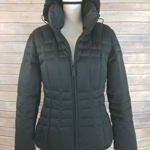Calvin Klein M MEDIUM Down Hooded Puffer Coat